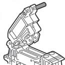 Соединительный штифт Viking 3 - для стандартных и компактных разъединителей - для 2 клемм