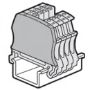 Торцевая крышка Viking 3 - для винтовых клемм - 1 вход/1 выход - с шагом 5/6/8/10 мм