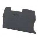 Торцевая крышка Viking 3 - для винтовых клемм - с разъединителем с шагом 6 мм и функциональных с шагом 5 мм