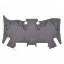 Торцевая крышка Viking 3 - для пружинных клемм - с шагом 5 мм - 1 вход/1 выход