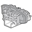 Разделительная и изолирующая перегородка Viking 3 - для пружинных клемм - двухъярусных