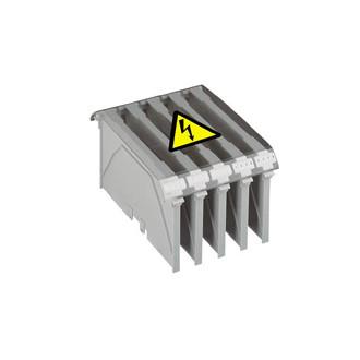 Разделительная перегородка - для силовых клемм с болтовыми выводами Viking 3 - шаг 26 (комплект 10 шт.)