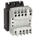Однофазный трансформатор обеспечения безопасности - первичная обмотка 230/400 В / вторичная обмотка 12/24 В - 63 ВА