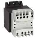 Однофазный трансформатор обеспечения безопасности - первичная обмотка 230/400 В / вторичная обмотка 24 В - 63 ВА