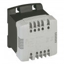 Однофазный трансформатор обеспечения безопасности - первичная обмотка 230/400 В / вторичная обмотка 24 В - 310 ВА