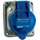 Встраиваемая розетка Hypra - IP 44 - 32 А - металл