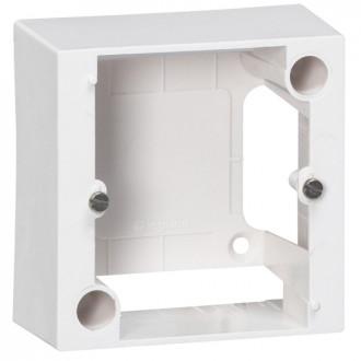 Коробка для накладного монтажа розеток 20А 82х82 мм