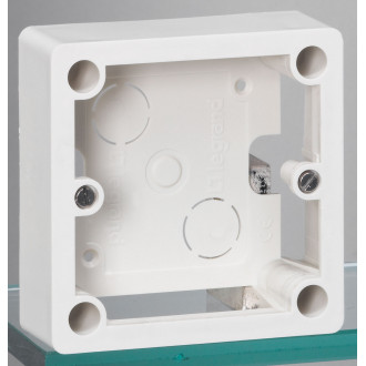 Коробка для накладного монтажа розеток 32А 100х100 мм