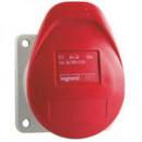 Встраиваемая прямая розетка суменьшенным фланцем - P17 Tempra Pro - IP 44 - 380/415 В~ - 16 A - 3 контакта