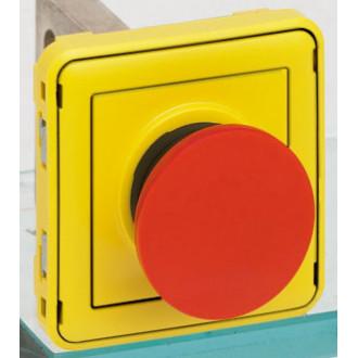 Кнопка экстренного отключения Н.З. контакт Plexo