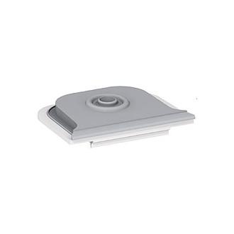 Мембранный сальник - Программа Plexo - серый - 1 ввод - диаметр 25 мм (комплект 10 шт.)