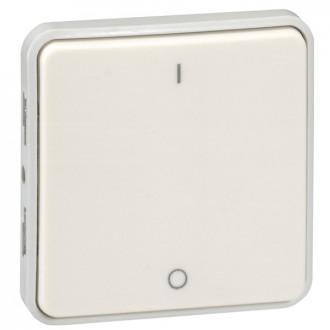 Выключатель двухполюсный белый, Plexo (комплект 5 шт.)