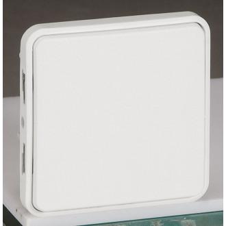Переключатель на 2 направления - антибакт. покрытие - Программа Plexo - 10 AX - 250 В - модульный - белый (комплект 5 шт.)