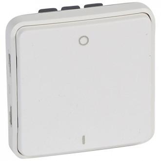Двухполюсный выключатель - антибакт. покрытие - Программа Plexo - 10 AX - 250 В - модульный - белый (комплект 5 шт.)