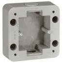 Одноместная коробка - Программа Soliroc - 110х110х45 мм