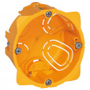 Коробка одноместная - Программа Batibox - для сухих перегородок - винт/захват - 1-местная - глубина 40