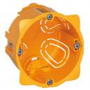 Коробка одноместная - Программа Batibox - для сухих перегородок - винт/захват - 1-местная - глубина 50