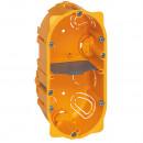 Коробка многоместная - Программа Batibox - для сухих перегородок - 2-местная - 4/5 модулей - глубина 50