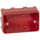 Коробка многоместная - Программа Batibox - для кирпичных стен - для изделий Mosaic - 3 модуля - глубина 40