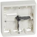 Накладная монтажная коробка Mosaic глубина 50 мм 2x5/2x2x2 модуля