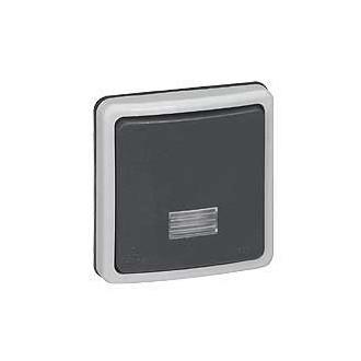 Кнопочный выключатель Н.О.+Н.З. контакты IP66, Plexo (комплект 2 шт.)