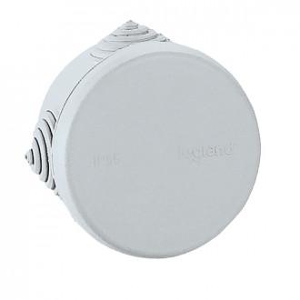 Коробка - Программа Plexo - IP 55 - IK 07 - круглая - диаметр 60 мм - 4 кабельных ввода (комплект 100 шт.)