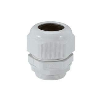 Уплотнитель пластиковый - IP 55 - ISO 40 - диаметр кабеля 22-32 мм - RAL 7035 (комплект 10 шт.)