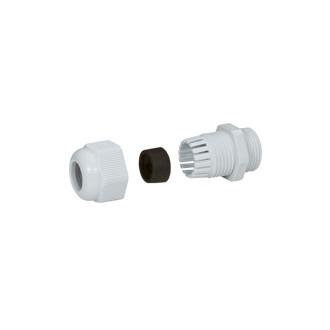 Уплотнитель пластиковый - IP 55 - P.G. 11 - диаметр кабеля 5-10 мм - RAL 7035 (комплект 50 шт.)