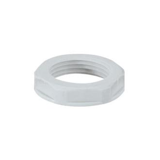 Пластиковая гайка для уплотнителя - IP 55 - ISO 63 - RAL 7035 (комплект 10 шт.)