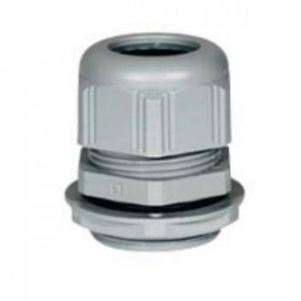 Пластиковый уплотнитель кабельных вводов - IP68 - ISO 12 - RAL 7001 (комплект 25 шт.)