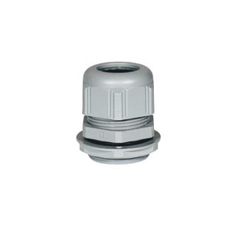Пластиковый уплотнитель кабельных вводов - IP68 - ISO 32 - RAL 7001 (комплект 5 шт.)