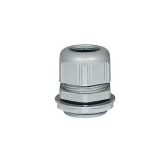 Пластиковый уплотнитель кабельных вводов - IP68 - P.G. 9 - RAL 7001 (комплект 25 шт.)