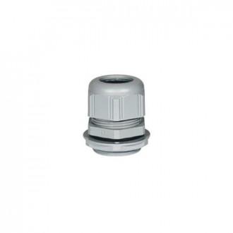 Пластиковый уплотнитель кабельных вводов - IP68 - P.G. 11 - RAL 7001 (комплект 25 шт.)