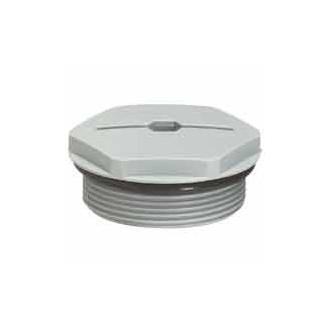 Концевая заглушка - IP68 - для PE ISO 20 - RAL 7001 (комплект 50 шт.)
