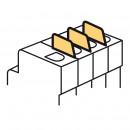 Фальш-модуль - для модульных аппаратов DX3 (комплект 10 шт.)