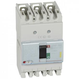 Автоматический выключатель DPX3 160 - термомагнитный расцепитель - 16 кА - 400 В~ - 3П - 80 А