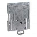 Монтажная панель для DPX3 160 - для крепления на рейку DIN или монтажную плату - 3П или 4П с электродвиг. Приводом