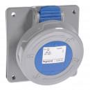 Встраиваемая розетка - P17 Tempra Pro - IP 66/67 - 200/250 В~ - 16 A - 2К+З