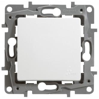 Выключатель-переключатель влагозащищенный IP 44 белый, Etika Plus