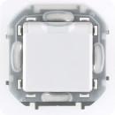 Розетка с заземлением, защитной крышкой со шторками, IP44, белый, Inspiria