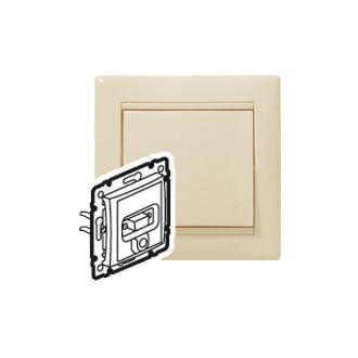 VGA + разъем mini jack 3,5 мм белый, Valena