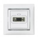 VGA для видеоустройств белый, Valena уценен