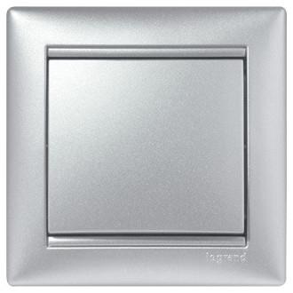 Рамка цвета алюминий, Valena