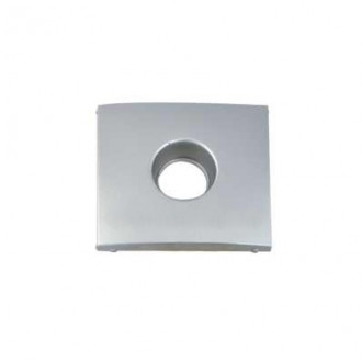 Лицевая панель для TV розеток цвета алюминий, Valena