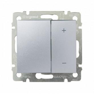 Светорегулятор 40-600 Вт цвета алюминий, Valena