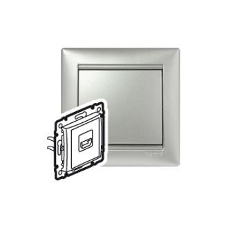 HDMI для аудио/видеоустройств цвета алюминий, Valena