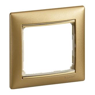 Рамка матовое золото, Valena