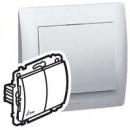 Переключатель двухклавишный влагозащищенный IP 44 белый, Galea Life (комплект 10 шт.)