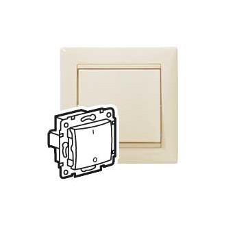Переключатель трехполюсный для люминесцентных ламп слоновая кость, Valena (комплект 10 шт.)