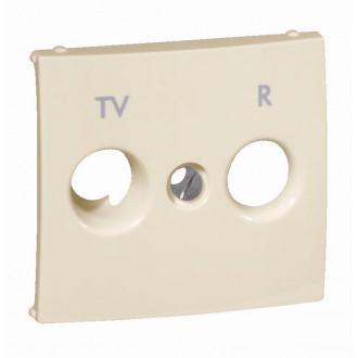 Лицевая панель для розеток TV-R слоновая кость, Valena